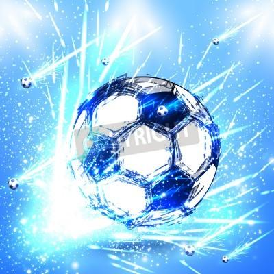 Fototapeta Light fotbal etapa