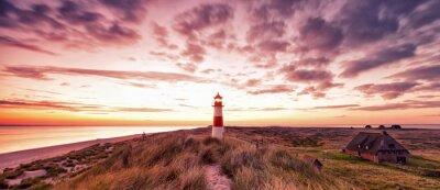 Fototapeta Lighthouse Panorama Sylt