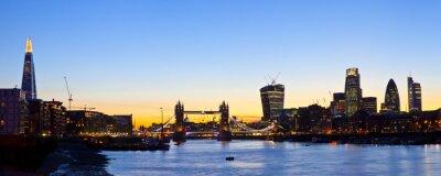 Fototapeta London Skyline Panoramatický
