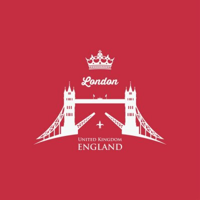 Fototapeta London Tower Bridge symbol