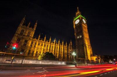 Fototapeta Londýn Big Ben v noci