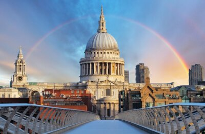 Fototapeta Londýn - Katedrála svatého Paiul, UK