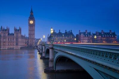 Fototapeta Londýn mezník Big Ben
