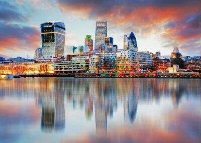 Fototapeta Londýn Skyline