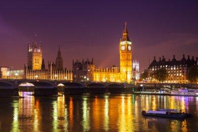 Fototapeta Londýn v noci