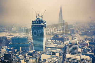 Fototapeta Londýnské město