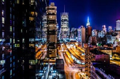 Fototapeta Luces de Nueva York