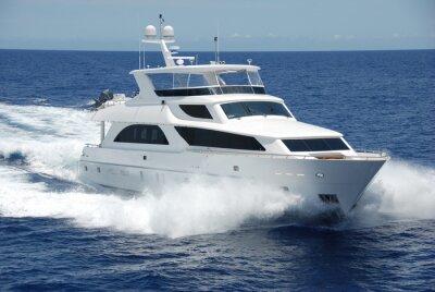 Fototapeta Luxury Yacht na moři