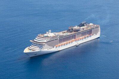 Fototapeta Luxusní výletní loď.