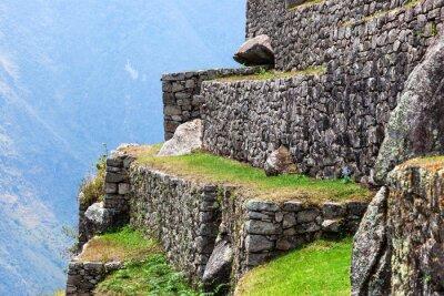 Fototapeta Machu Picchu, staré zdi