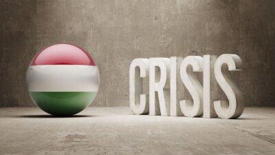 Maďarsko. Krize Concept