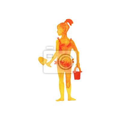 Stáhnout royalty-free Silueta ženy v západu slunce stříkající z vody video 142936843 z Depositphotos kolekce s milióny prémiových fotografií s vysokým.