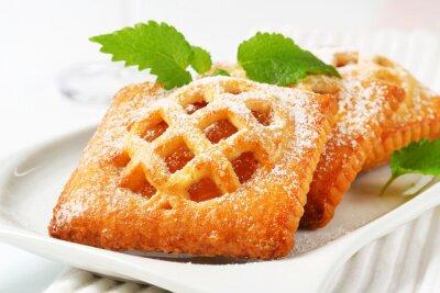 Fototapeta Malé meruňkové koláče