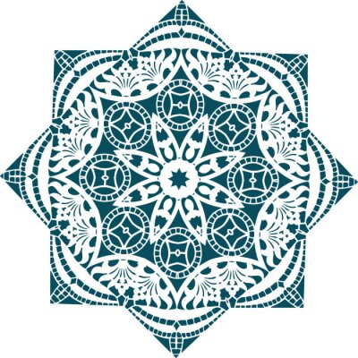 Fototapeta Mandala etnické indické ilustrace design