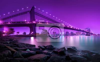 Fototapeta Manhattan Bridge New York City