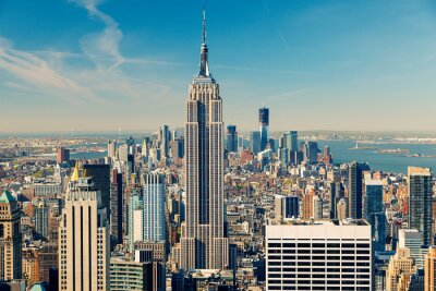 Fototapeta Manhattan letecký pohled