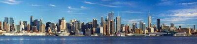 Fototapeta Manhattan panorama panorama, New York City
