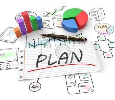 Fototapeta Marketingové plánování