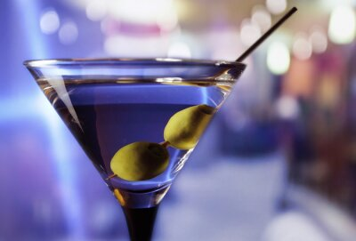 Fototapeta martini s olivami