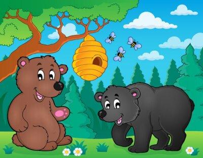 Fototapeta Medvědi v přírodě theme image 4