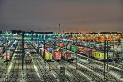 Fototapeta Mesh seřaďovací nádraží