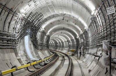 Fototapeta Metro tunel