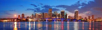 Fototapeta Miami noční scéna