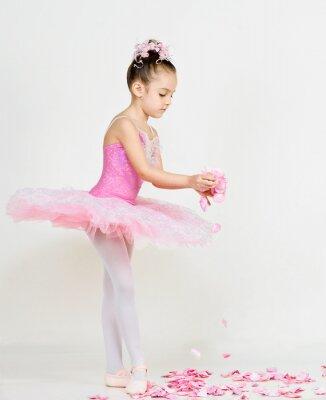 Fototapeta mladá balerína
