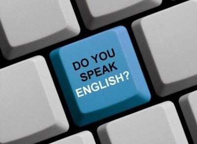 Fototapeta Mluvíte anglicky?