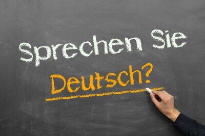 Fototapeta Mluvíte německy?