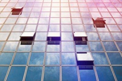 Fototapeta Moden Business Office Building Windows