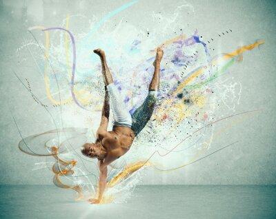 Fototapeta Moderní tanečník