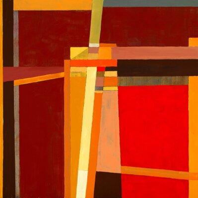 Fototapeta modernistické abstraktní malba