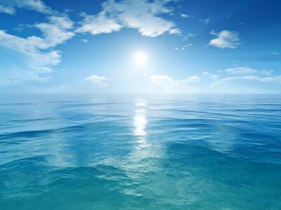Fototapeta modrá obloha oceán