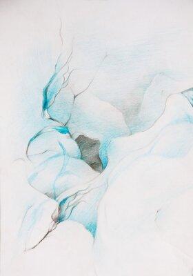 Fototapeta modré barvy