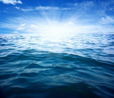 Fototapeta Modré moře a slunce