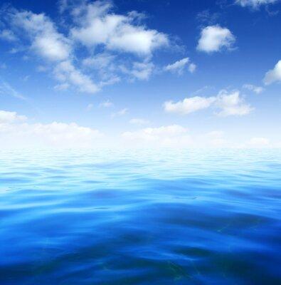 Fototapeta Modré mořské vody