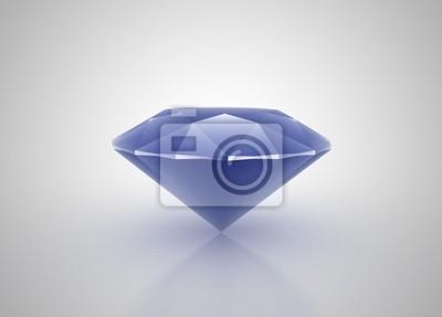 Fototapeta Modrý diamant