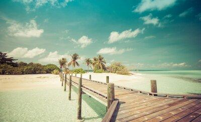 Fototapeta Molo na pláži