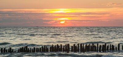 Fototapeta Mořské slunce v Polsku