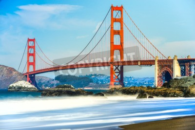 Fototapeta Most Golden Gate v San Franciscu, Kalifornie, USA.