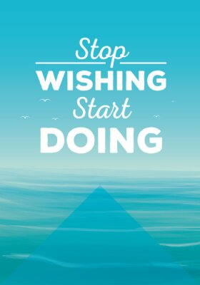 Fototapeta Motivation quote