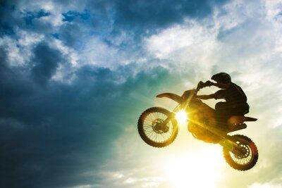 Fototapeta Motocross Bike Jump
