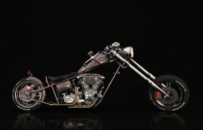 Fototapeta motocykl modelu