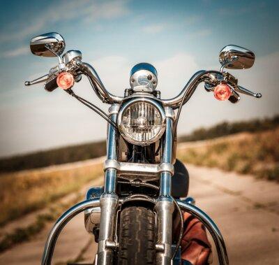 Fototapeta Motocykl na silnici