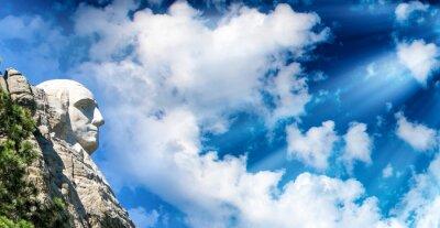 Fototapeta Mount Rushmore při západu slunce, Jižní Dakota - USA