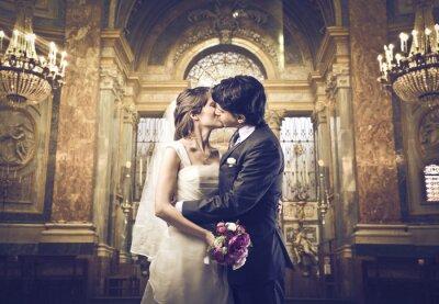 Fototapeta Můžete políbit nevěstu