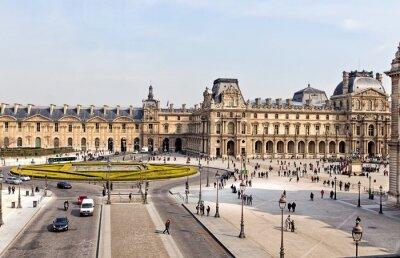 Fototapeta Muzeum Louvre v Paříži