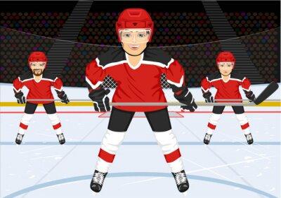 Fototapeta mužský hokejový tým