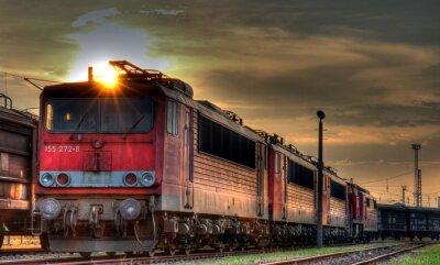 Fototapeta Nákladní nádraží zátiší HDR